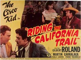 Riding the California Trail - 11 x 14 Movie Poster - Style A
