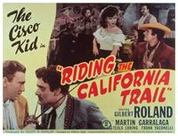Riding the California Trail - 11 x 14 Movie Poster - Style B