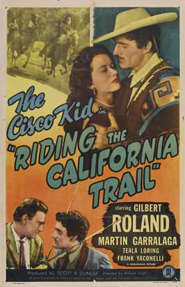 Riding the California Trail - 27 x 40 Movie Poster - Style A