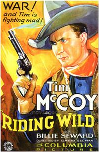 Riding Wild - 43 x 62 Movie Poster - Bus Shelter Style A