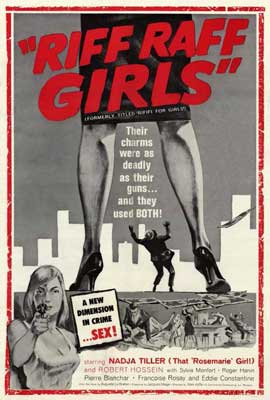 Riff Raff Girls - 27 x 40 Movie Poster - Style A