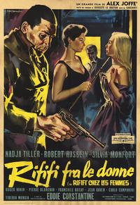 Riffi and the Women - 11 x 17 Movie Poster - Italian Style A