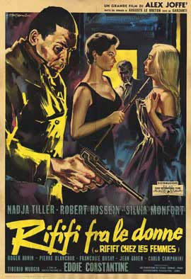 Riffi and the Women - 27 x 40 Movie Poster - Italian Style A