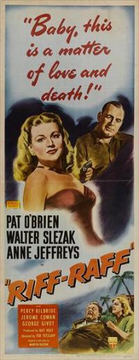 Riffraff - 14 x 36 Movie Poster - Insert Style A