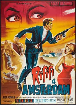 Rififi in Amsterdam - 27 x 40 Movie Poster - French Style A
