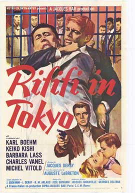 Rififi in Tokyo - 27 x 40 Movie Poster - Style A