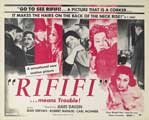 Rififi - 11 x 14 Movie Poster - Style A