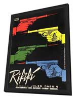 Rififi - 11 x 17 Movie Poster - French Style A - in Deluxe Wood Frame