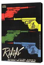 Rififi - 11 x 17 Movie Poster - French Style A - Museum Wrapped Canvas