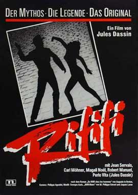 Rififi - 11 x 17 Movie Poster - German Style A