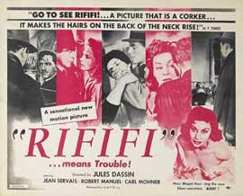 Rififi - 11 x 14 Movie Poster - Style A