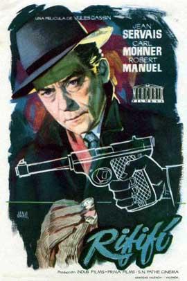 Rififi - 11 x 17 Movie Poster - Spanish Style A