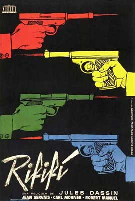 Rififi - 11 x 17 Movie Poster - Spanish Style B