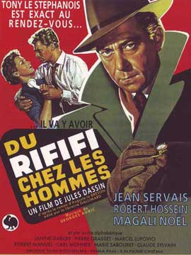 Rififi - 11 x 17 Movie Poster - French Style B
