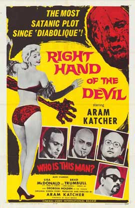 Right Hand of the Devil - 11 x 17 Movie Poster - Style A