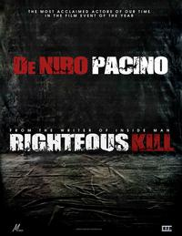 Righteous Kill - 27 x 40 Movie Poster - Style C