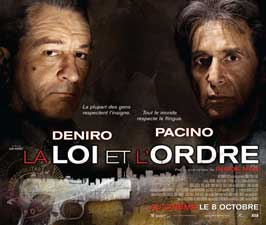 Righteous Kill - 30 x 40 Movie Poster - French Style A