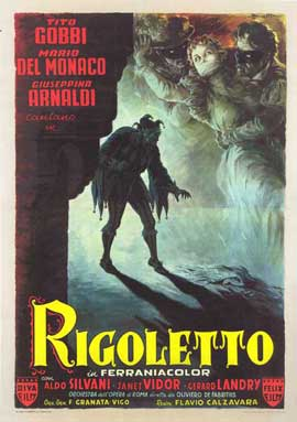Rigoletto - 11 x 17 Movie Poster - Italian Style A