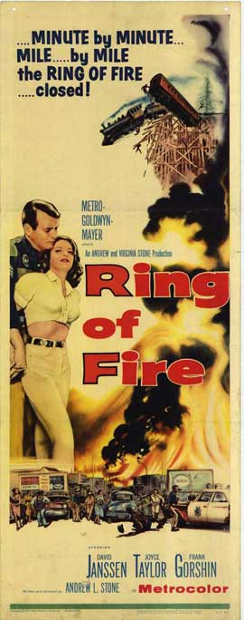 Ring of Fire - 14 x 36 Movie Poster - Insert Style A