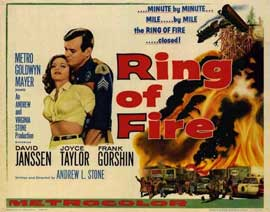 Ring of Fire - 22 x 28 Movie Poster - Half Sheet Style A