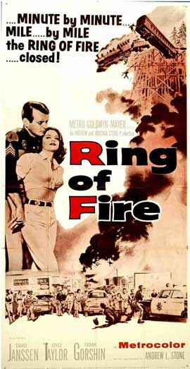Ring of Fire - 20 x 40 Movie Poster - Style A