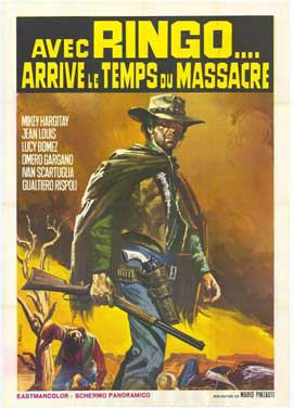 Ringo, It's Massacre Time - 11 x 17 Movie Poster - Italian Style A