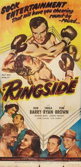 Ringside - 20 x 40 Movie Poster - Style A