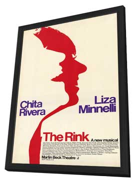 Rink, The (Broadway) - 27 x 40 Movie Poster - Style A - in Deluxe Wood Frame
