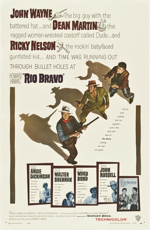 Rio Bravo - 27 x 40 Movie Poster - Style B