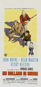 Rio Bravo - 13 x 28 Movie Poster - Italian Style A