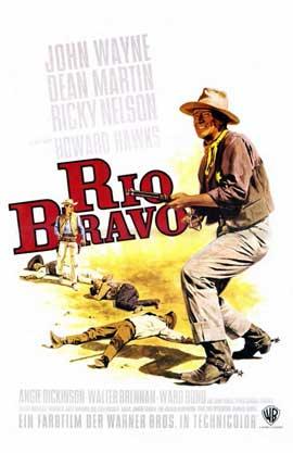 Rio Bravo - 11 x 17 Movie Poster - German Style A