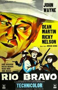 Rio Bravo - 11 x 17 Movie Poster - French Style A