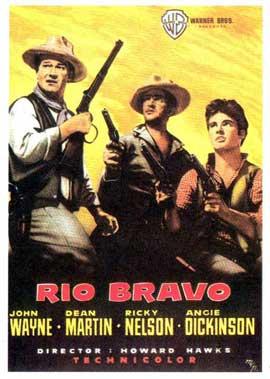 Rio Bravo - 11 x 17 Movie Poster - Spanish Style B