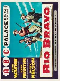 Rio Bravo - 30 x 40 Movie Poster UK - Style A