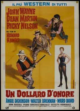Rio Bravo - 27 x 40 Movie Poster - Italian Style B