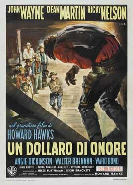 Rio Bravo - 27 x 40 Movie Poster - Italian Style D