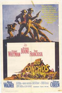 Rio Conchos - 11 x 17 Movie Poster - Style A
