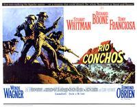 Rio Conchos - 11 x 14 Movie Poster - Style A
