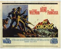 Rio Conchos - 22 x 28 Movie Poster - Half Sheet Style A