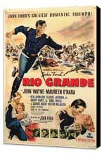 Rio Grande - 11 x 17 Movie Poster - Style A - Museum Wrapped Canvas