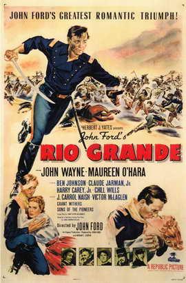 Rio Grande - 11 x 17 Movie Poster - Style A