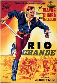 Rio Grande - 11 x 17 Movie Poster - Spanish Style A