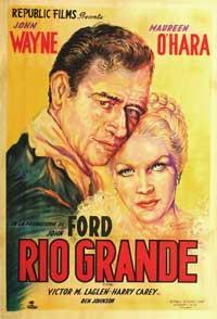 Rio Grande - 11 x 17 Movie Poster - Australian Style A