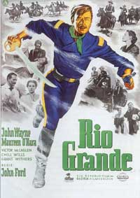Rio Grande - 11 x 17 Movie Poster - German Style A