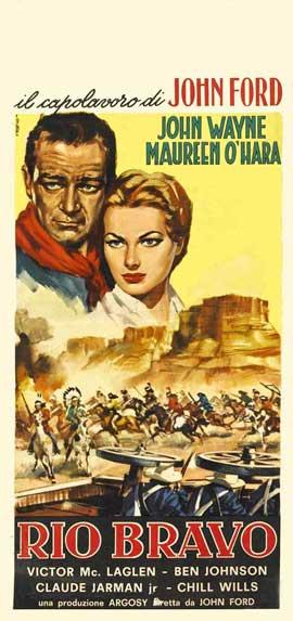 Rio Grande - 13 x 28 Movie Poster - Italian Style A