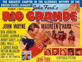Rio Grande - 11 x 17 Movie Poster - Style B