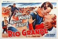 Rio Grande - 14 x 22 Movie Poster - Belgian Style B