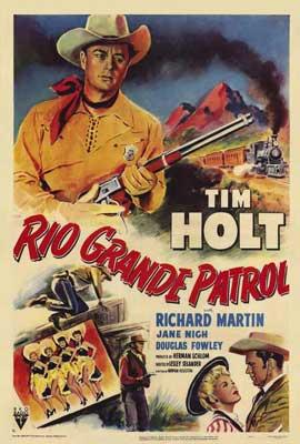 Rio Grande Patrol - 27 x 40 Movie Poster - Style A