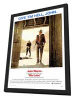 Rio Lobo - 27 x 40 Movie Poster - Style A - in Deluxe Wood Frame