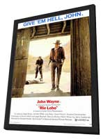Rio Lobo - 11 x 17 Movie Poster - Style A - in Deluxe Wood Frame